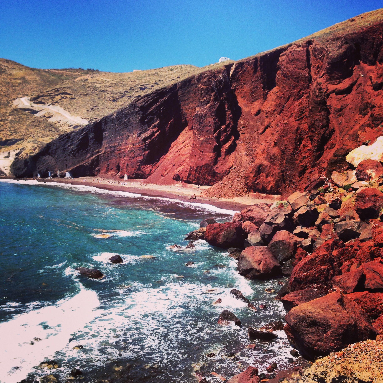 Santorini: Akrotiri and the Beaches  Bembes Abroad